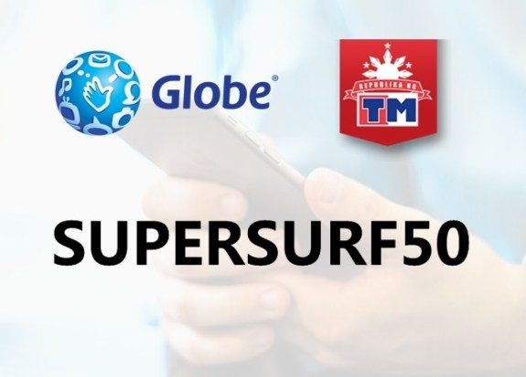 SUPERSURF50 - 1 Day Globe & TM Surf Promo Details Update