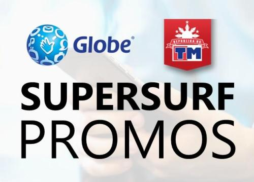 Globe supersurf unli Internet data promos
