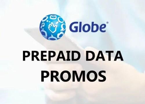 Globe Prepaid Bulk & Unlimited Mobile Data Promos 2019 [UPDATE]