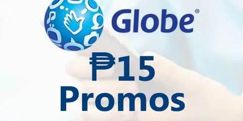 Gobe 15 Pesos Promo Offers 2019
