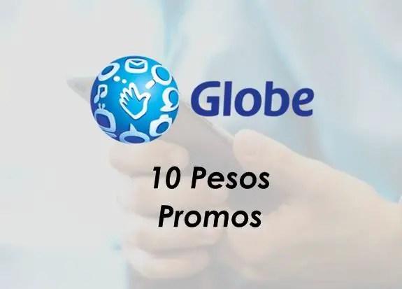 Globe/Gosakto 10 pesos promos 2019