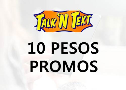 Talk 'N Text TNT 10 pesos promo list 2018 for unli call, text and mobile internet