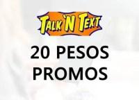 Talk 'N Text (TNT) 20 Pesos Call, Text And Data Promo List