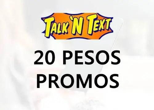 Talk 'N Text (TNT) 20 Pesos Promo List 2018