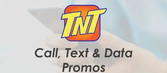 Talk 'N Text (TNT) Unli Call, Text, Data, Combo Promo List 2019