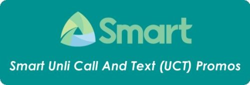 Smart Prepaid Unli Call And Text (UCT) Promo Packages 2019.