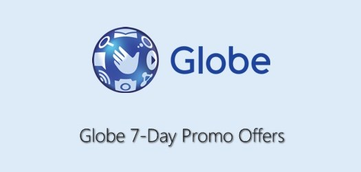 Globe 7 Days / 1 Week Call, Text, Data Promo Offers 2019