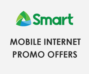 Smart Internet Promo Offers 2021 - Smart Unli Internet Surf Promo List