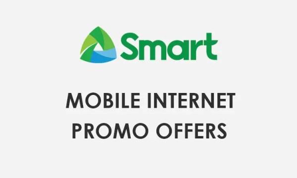 Smart Internet Promo Offers 2021 - Smart Unli Internet Surf Promo List