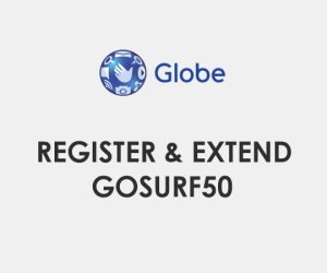 How to register, extend GoSURF50 / GS50