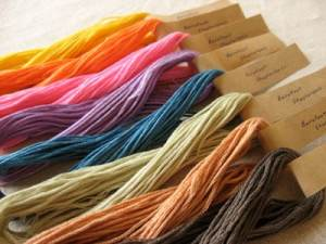Natural Dyed Threads