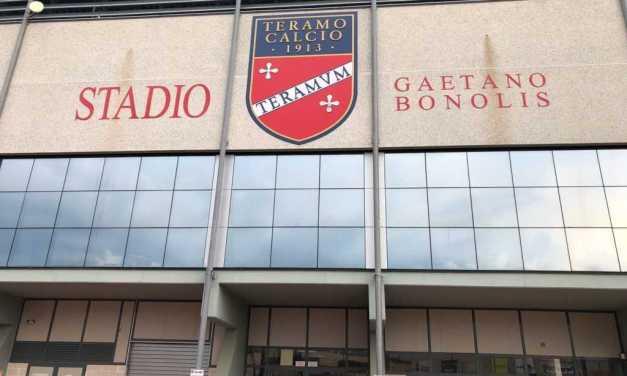 Calcio C, finalmente è ufficiale: Teramo-Cavese si giocherà al Bonolis domenica alle ore 15:00