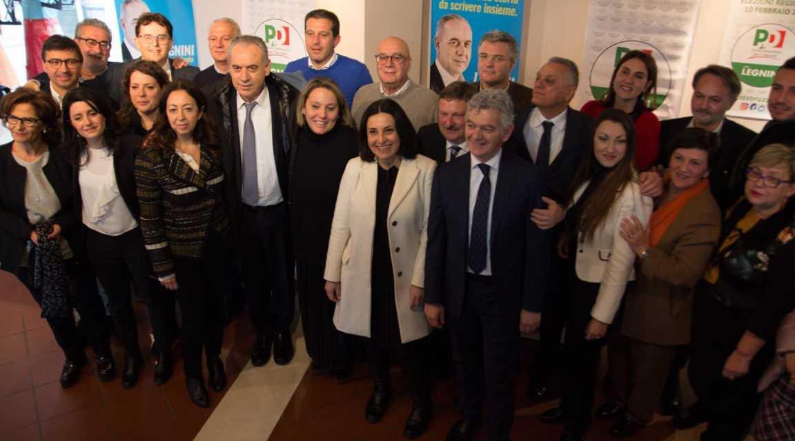 FOTO | REGIONALI, PRESENTAZIONE UFFICIALE DELLE LISTE E DEI CANDIDATI DEL PARTITO DEMOCRATICO