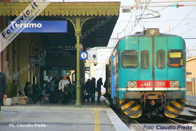 Sale Blu Ferrovie : Ferrovie teramo entra nel circuito stazioni con assistenza disabili