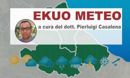 EKUO Meteo | Ferragosto e fine settimana 16-18 Agosto 2019