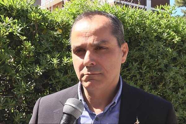 L'assessore regionale Piero Fioretti a Giulianova