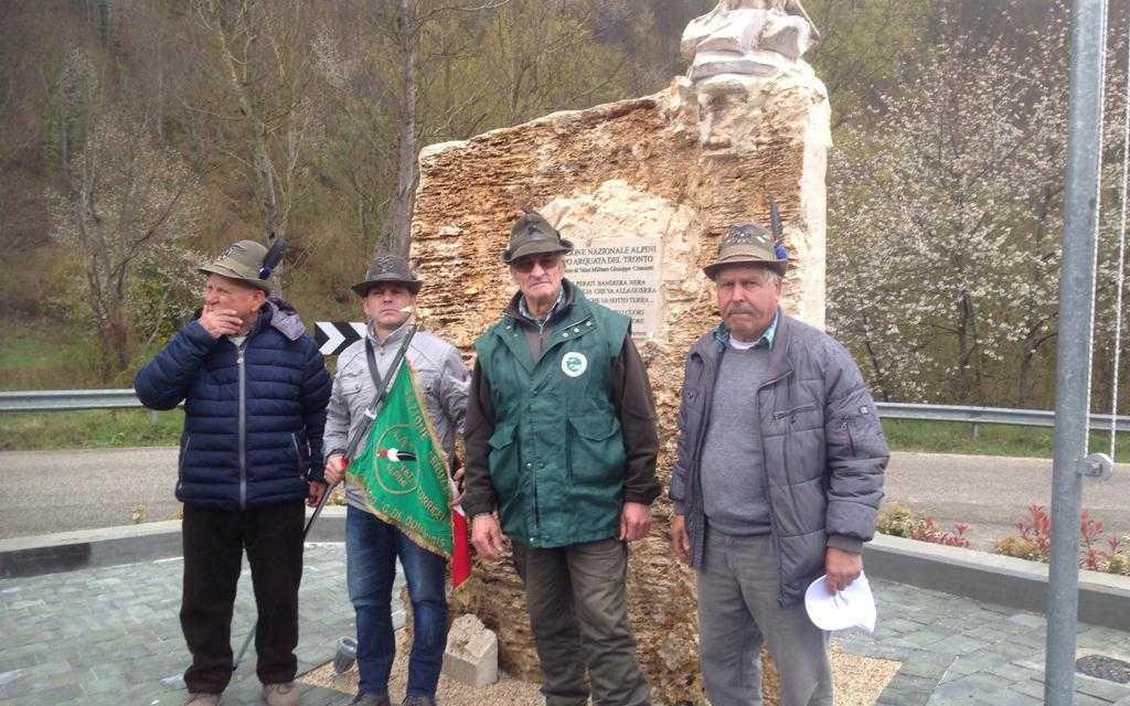 FOTO E VIDEO | L'Associazione Nazionale Alpini inaugura un Centro Polifunzionale ad Arquata del Tronto