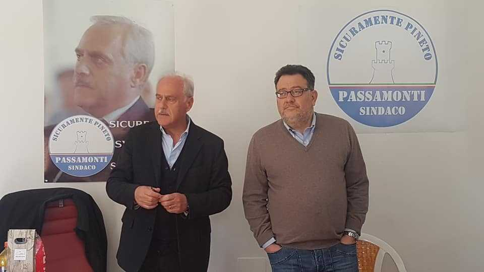 Pineto, inaugurata la sede elettorale del candidato sindaco Paolo Passamonti