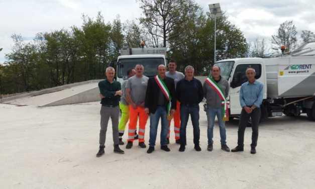 MoTe, inaugurata la nuova stazione ecologica a servizio dei Comuni di Rocca Santa Maria e Valle Castellana