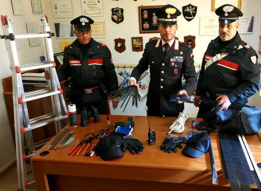 Morro D'Oro, tentativo di rapina con sequestro di persona: arrestati due campani