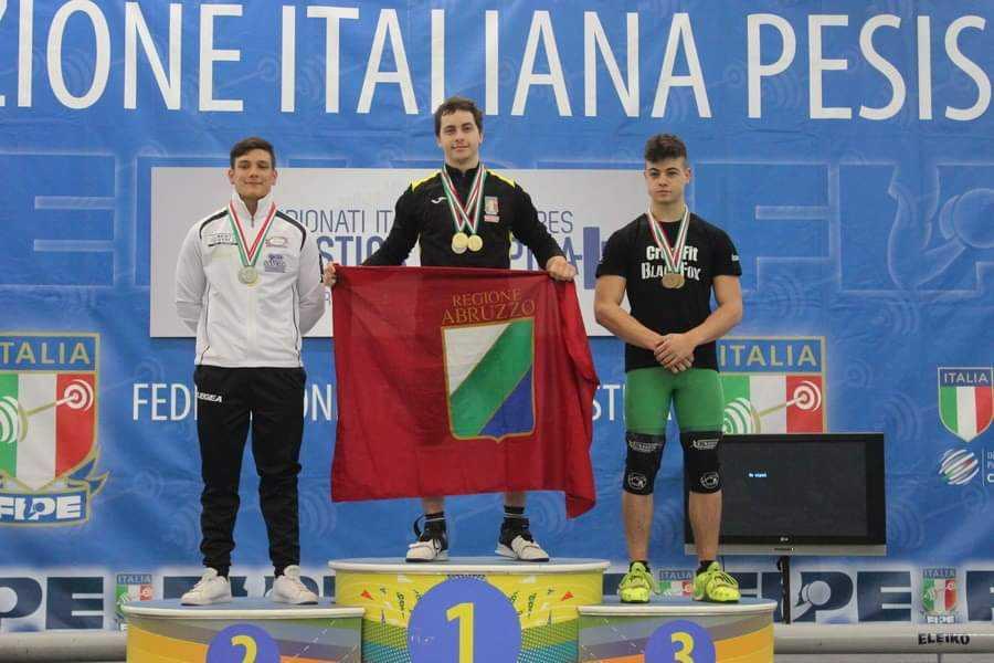 E' il giuliese Roel Narcisi il nuovo campione italiano di Pesistica Olimpica