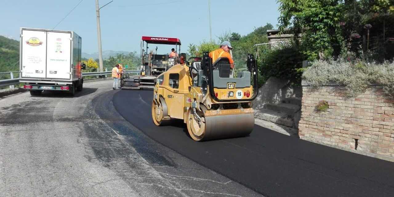 Al via i lavori sulla SP 365 nei territori di Bisenti, Castiglione e Basciano