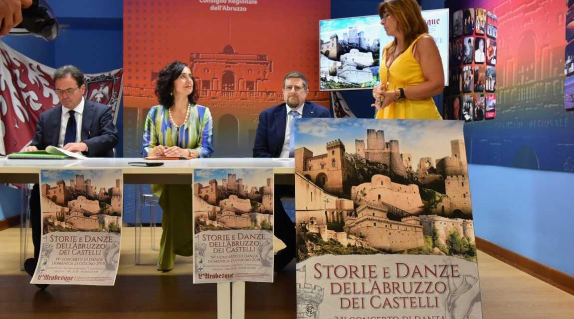 """""""Storie e danze dell'Abruzzo dei Castelli"""": presentato il Festival per promuovere patrimonio storico e artistico"""
