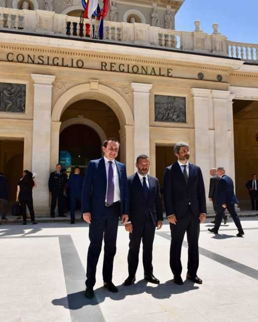 Sisma, Roberto Fico visita centro storico L'Aquila:  ferite ancora aperte, impegno reperimento fondi
