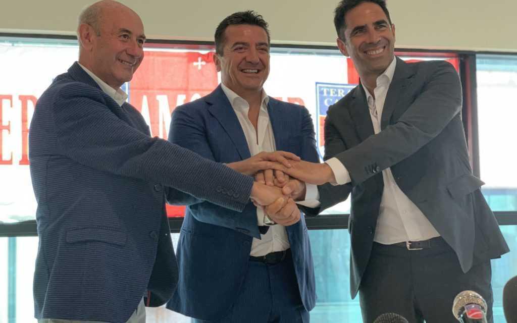Presentato il nuovo General Manager Andrea Iaconi «Il Presidente mi ha fatto tornare la voglia di fare calcio»