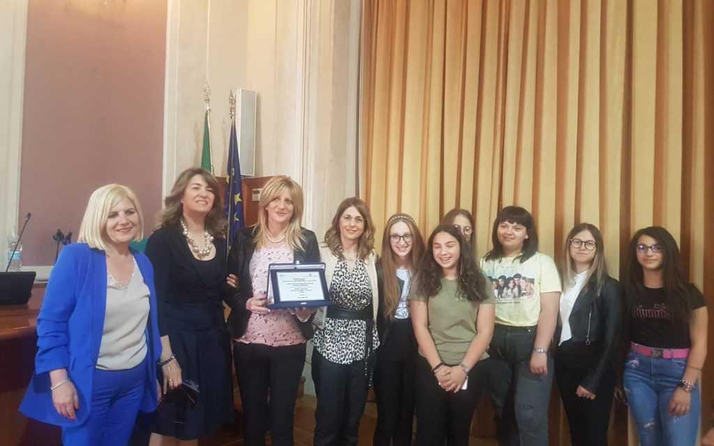 FOTO e VIDEO | Istituto Falcone Borsellino vince primo premio nel Concorso Nazionale promosso dal Miur