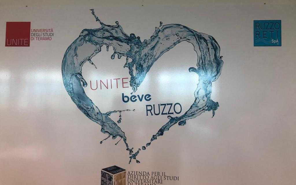 FOTO e VIDEO | Unite beve Ruzzo, due convenzioni in sinergia tra Università, Adsu e Ruzzo