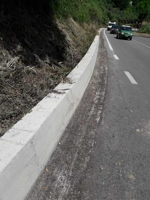 Piano sfalcio al via sulle strade provinciali. Riapre la Panoramica di Tortoreto con limite di velocità e di peso