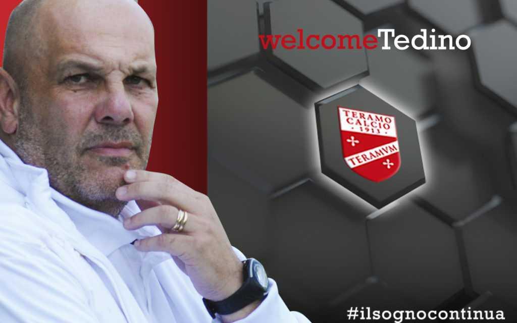 Il Teramo Calcio ufficializza Bruno Tedino nuovo allenatore della prima squadra
