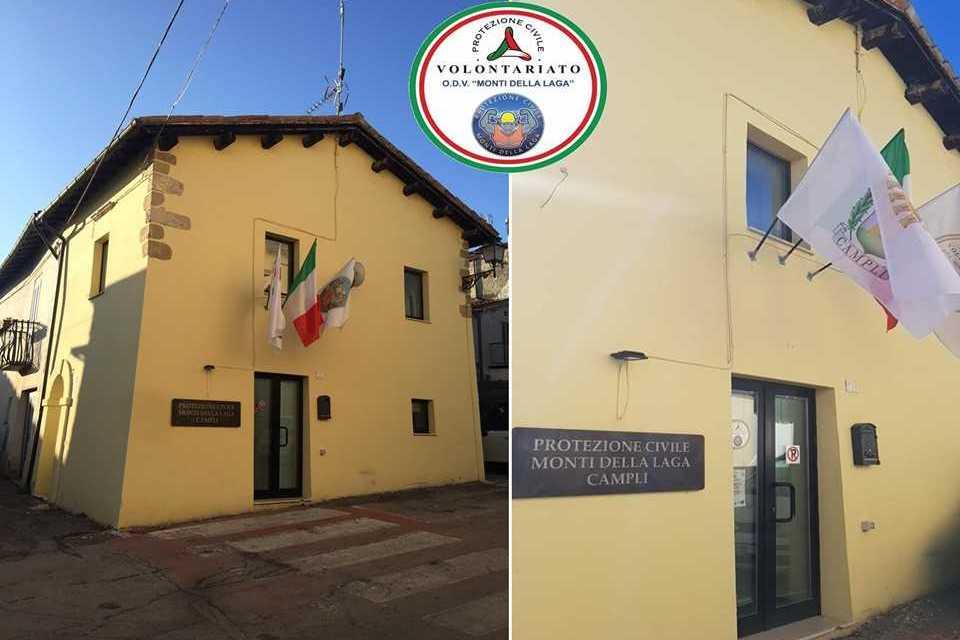 Campli, allestita la sala del Centro Operativo Comunale: 3 agosto inaugurazione