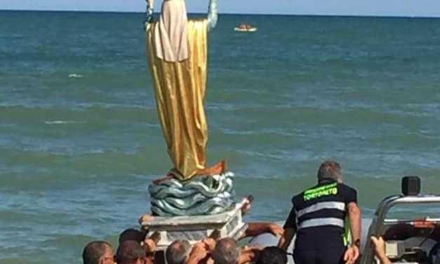FOTO | Tortoreto, si è rinnovata con successo la tradizionale Processione della Madonna del Mare