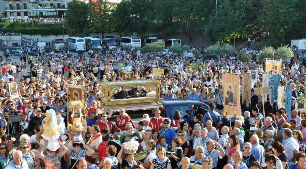 FOTO | 39^ Tendopoli verso la conclusione: domenica la festa di San Gabriele con l'arrivo di 10.000 pellegrini