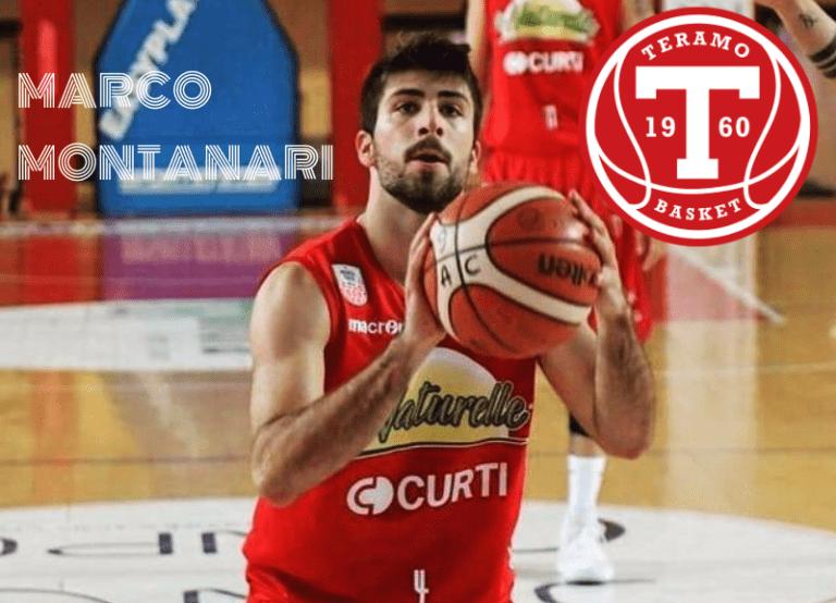 Basket B, Teramo ha il suo playmaker: è Marco Montanari