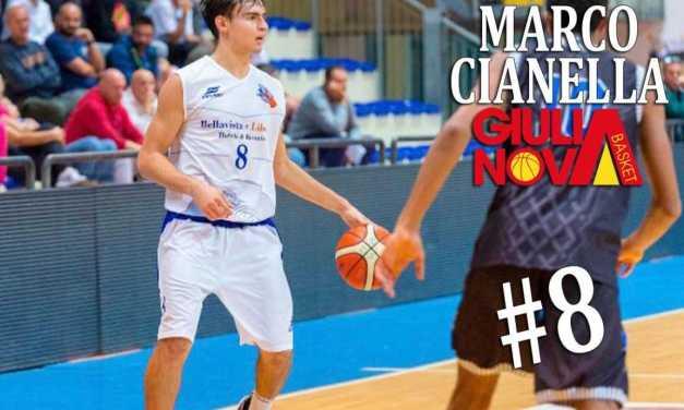Basket B, Domenica si radunerà il Giulianova che chiude il roster confermando Marco Cianella