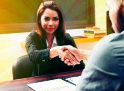 interviewee secures job
