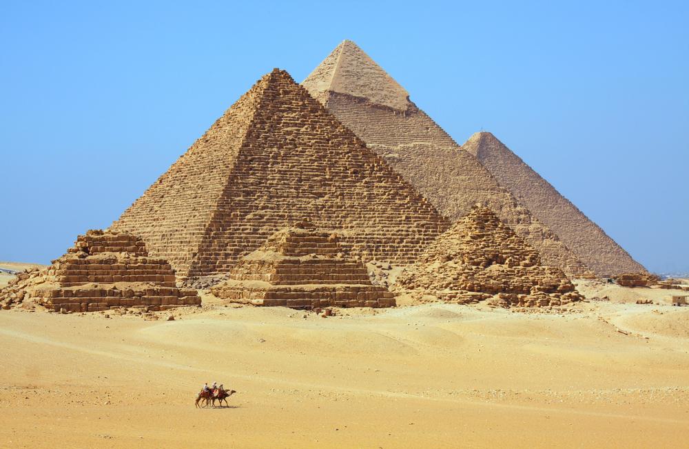 毎年のように新たな謎が明らかになるピラミッド