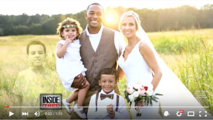 結婚式の写真に亡き息子の姿。感動したと世界中で大反響!