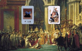 神社カフェ発信 タロットについて 8<br>「父祖・皇帝」〜イマジネーションの普遍性