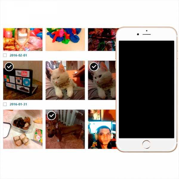 Как с айфона скинуть фотки на комп через кабель
