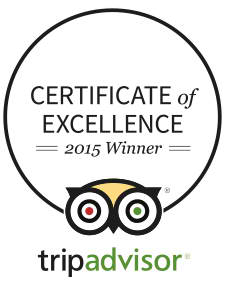 El Dive has the TripAdvisor's Certificate of Excellence 2015
