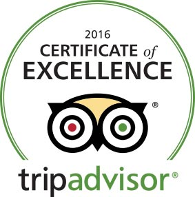 El Dive has the TripAdvisor's Certificate of Excellence 2016