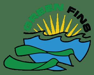 Green Fins logo website
