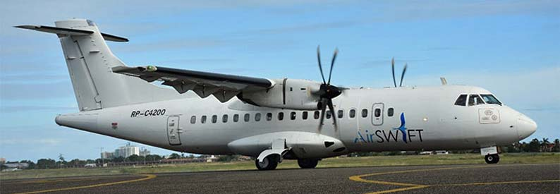 Get to El Nido with AirSWIFT: the ATR-42 aircraft