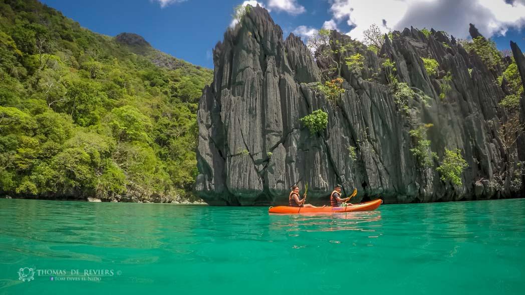 Cadlao lagoon, El Nido, Philippines