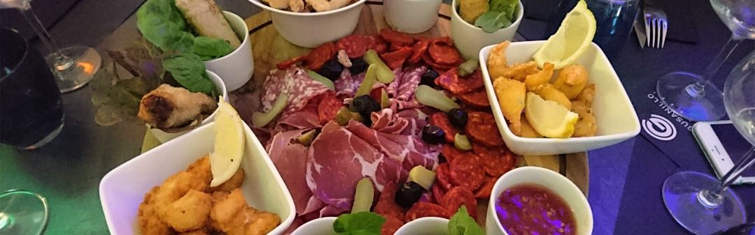 Assiette Tapas. El Gusanillo Concept