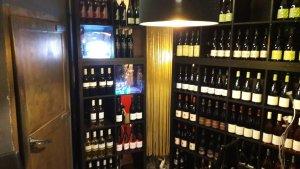 La cave à vins El gusanillo concept